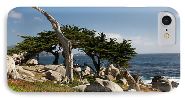 IPhone Case featuring the photograph 17 Mile Drive  by Vinnie Oakes