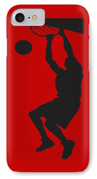 Nba Shadow Player IPhone Case by Joe Hamilton