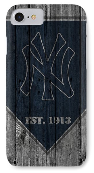 New York Yankees IPhone Case by Joe Hamilton