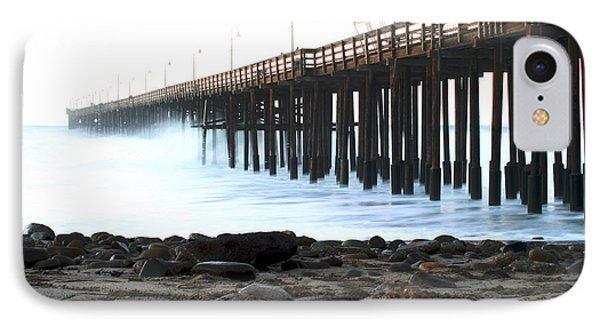 Ocean Wave Storm Pier Phone Case by Henrik Lehnerer