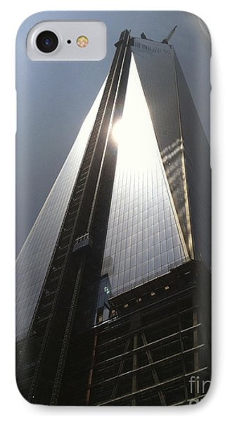 1776 Freedom Tower IPhone Case by Kathryn Barry