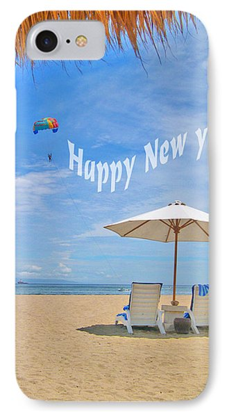 Happy New Year IPhone Case by Andy Za