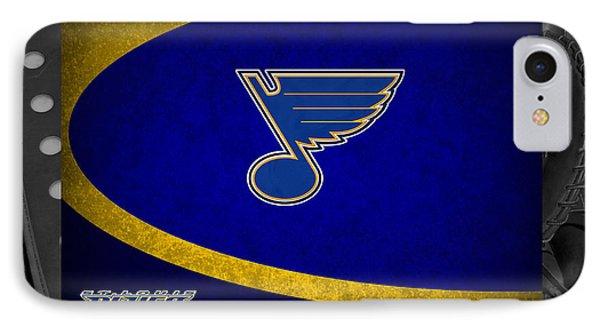 St Louis Blues IPhone Case by Joe Hamilton