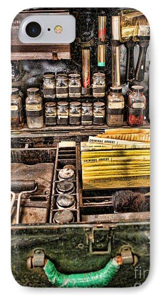 1800's Fingerprint Kit Phone Case by Lee Dos Santos
