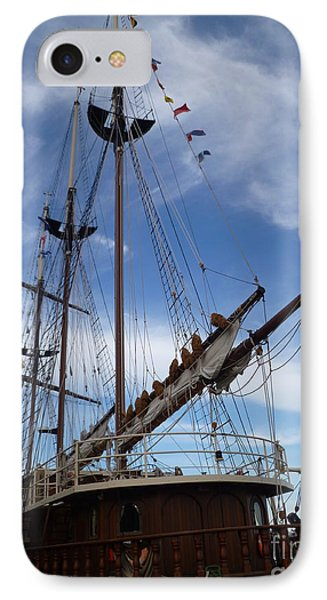 1812 Tall Ships Peacemaker IPhone Case by Lingfai Leung