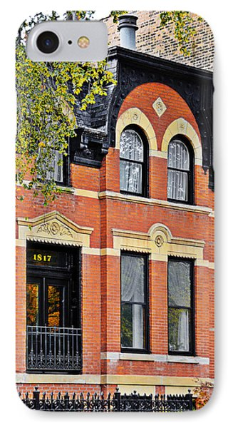 1817 N Orleans St Old Town Chicago Phone Case by Christine Till