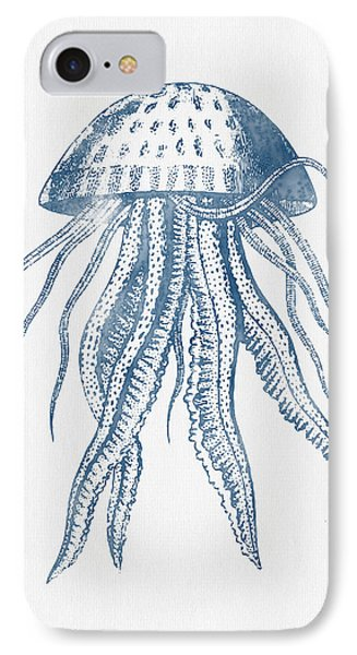 1844 Octopus Ink Drawing Phone Case by Aged Pixel