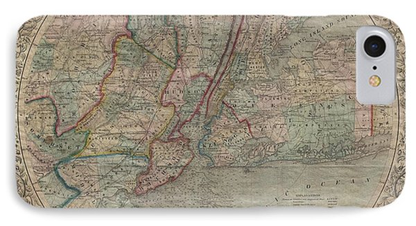 Map Of New York District Courts.Us District Court Iphone 7 Cases Fine Art America