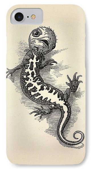 1863 Kingsley Waterbabies Human Newt IPhone 7 Case