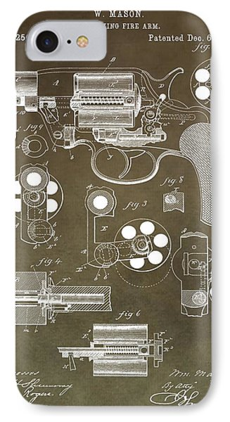 1881 Firearm Patent IPhone Case