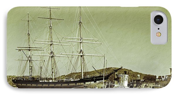 1886 Balclutha IPhone Case by Holly Blunkall