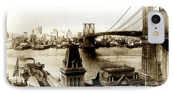 1890 Brooklyn New York IPhone Case
