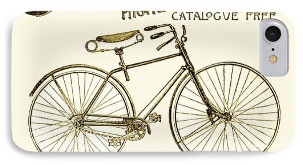 1891 - Columbia Bicycle Advertisement IPhone Case