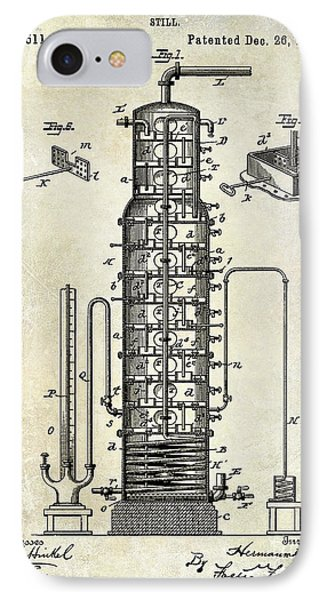 1893 Still Patent Drawing IPhone Case