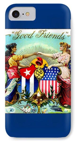1898 Good Friends Cuban Cigars IPhone Case