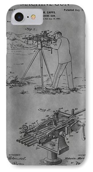 1899 Machine Gun IPhone Case