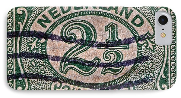 1899 Netherlands Stamp IPhone Case