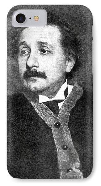 Albert Einstein IPhone Case by Emilio Segre Visual Archives/american Institute Of Physics