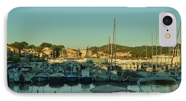 Beautiful Harbours At The French Riviera IPhone Case by Maja Sokolowska