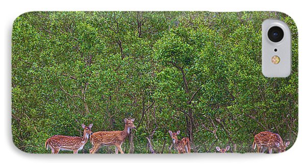 India, West Bengal, Sunderbans National IPhone Case by Connie Bransilver