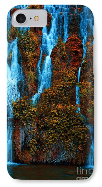 IPhone Case featuring the photograph Waterfall by Odon Czintos