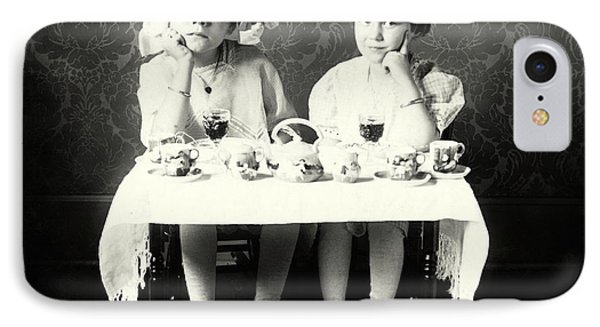 1900 Girlfriends Teaparty IPhone Case by Historic Image