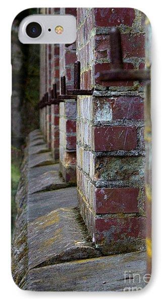 1900's Brick Wall IPhone Case by Deanna Proffitt