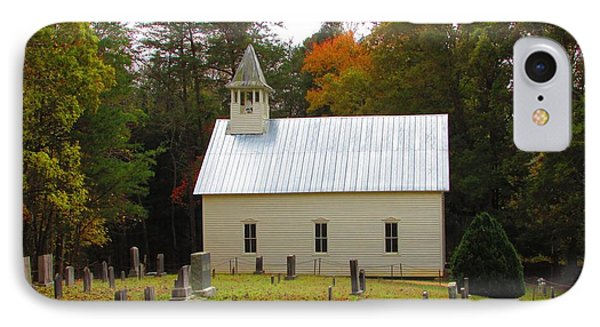 Cade's Cove 1902 Methodist Church IPhone Case by Kathy Long