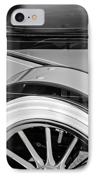 1903 Pope Hartford B Wheel IPhone Case by Jill Reger