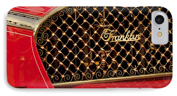 1904 Franklin Open Four Seater Grille Emblem Phone Case by Jill Reger