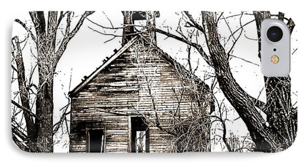 IPhone Case featuring the photograph 1904 School House Memory by Sonya Lang