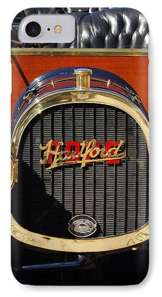 1910 Pope Hartford Model T Grille Emblem IPhone Case by Jill Reger