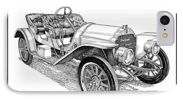 1910 Stoddard Dayton 10 C Roadster IPhone Case