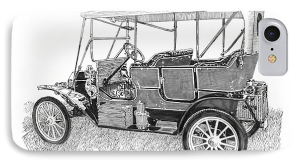 1911 Maxwell A B IPhone Case by Jack Pumphrey