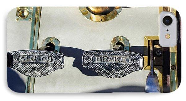 1911 Pope Hartford Model W 4 Cylinder 50 Hp 7 Passenger Brake-clutch Pedals IPhone Case