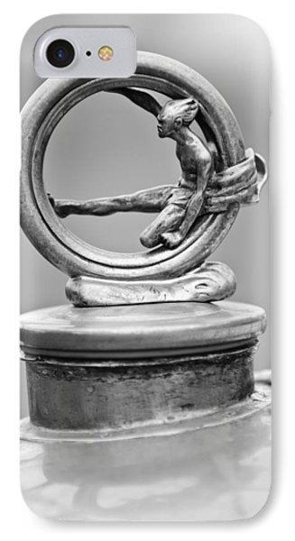 1912 Gobron-brillie 12 Cv Skiff Hood Ornament 2 IPhone Case by Jill Reger
