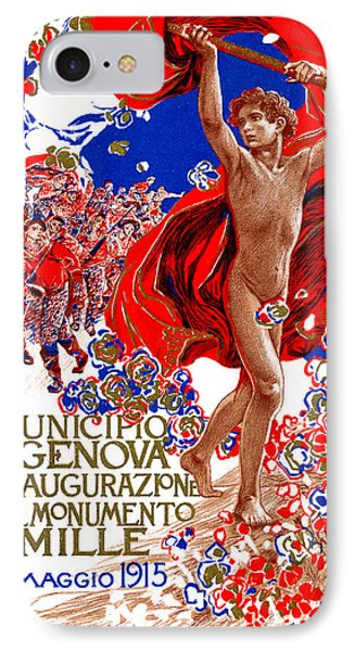 1915 Unified Italy Poster Phone Case by Historic Image