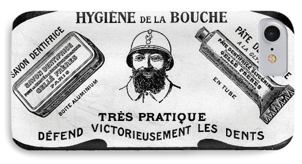 1916 Toothpaste Advert IPhone Case by Cci Archives