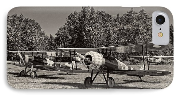 1917 Nieuport 28c.1 Classic Biplane IPhone Case by Keith Webber Jr