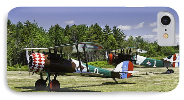 1917 Nieuport 28c.1 Fighter World War One Photo IPhone Case by Keith Webber Jr