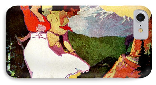 1919 Pikes Peak Colorado Poster IPhone Case