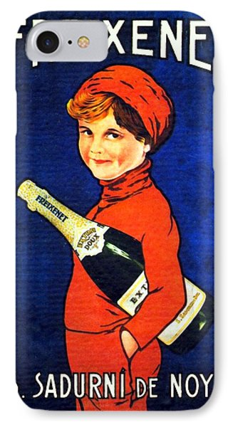 1920 - Freixenet Wines - Advertisement Poster - Color Phone Case by John Madison