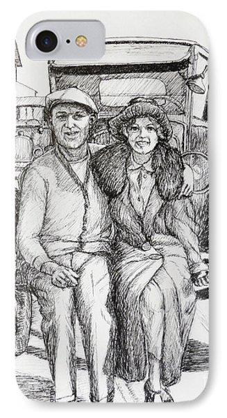 1920s Couple IPhone Case