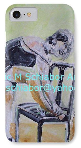 1920s Girl Phone Case by Eric  Schiabor