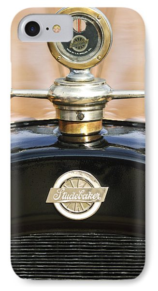 1922 Studebaker Touring Hood Ornament Phone Case by Jill Reger