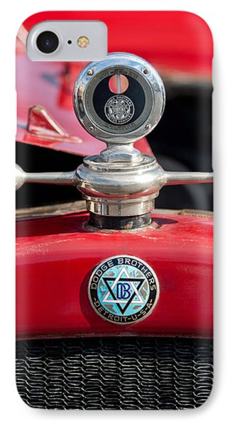 1923 Dodge Brothers Hood Ornament IPhone Case by Jill Reger
