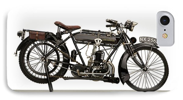 1925 New Hudson 247cc Lightweight IPhone Case by Panoramic Images
