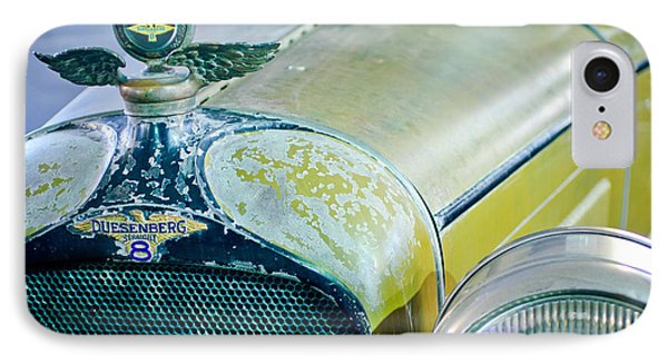1926 Duesenberg Hood Ornament - Motometer IPhone Case by Jill Reger