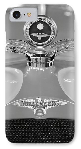 1926 Duesenberg Model A Boyce Motometer 2 IPhone Case by Jill Reger