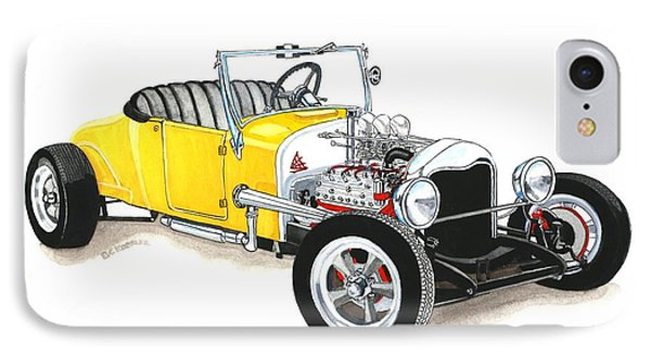 1927 Ford Roadster IPhone Case by Donald Koehler